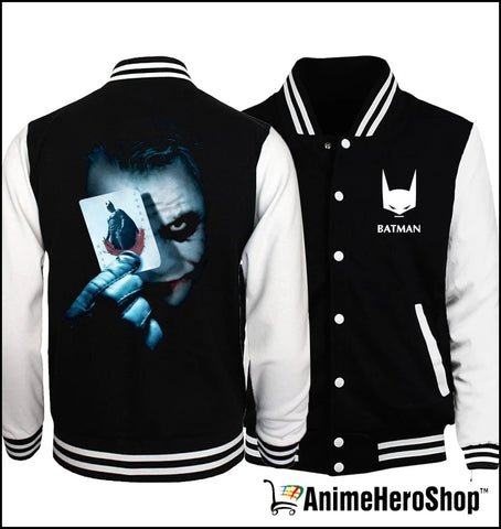 Image of Super Hero Unisex Spring Baseball Bomber Jacket - Anime Hero Shop