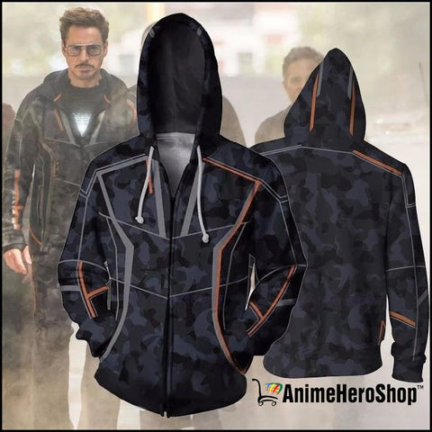 Image of Infinity War Iron Man Tony Stark men 3d print Hoodies