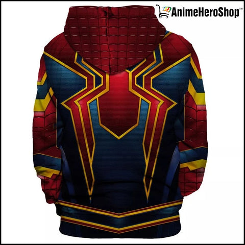 Image of Infinity War Iron Spider Man 3D jacket costume Unisex hoodie - Anime Hero Shop