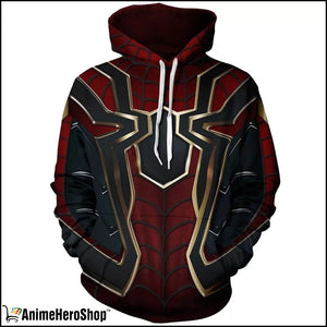 Infinity War Iron Spider Man 3D jacket costume Unisex hoodie - Anime Hero Shop