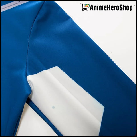 Image of Captain America Zip Up Hoodie - Classic Jacket - Anime Hero Shop