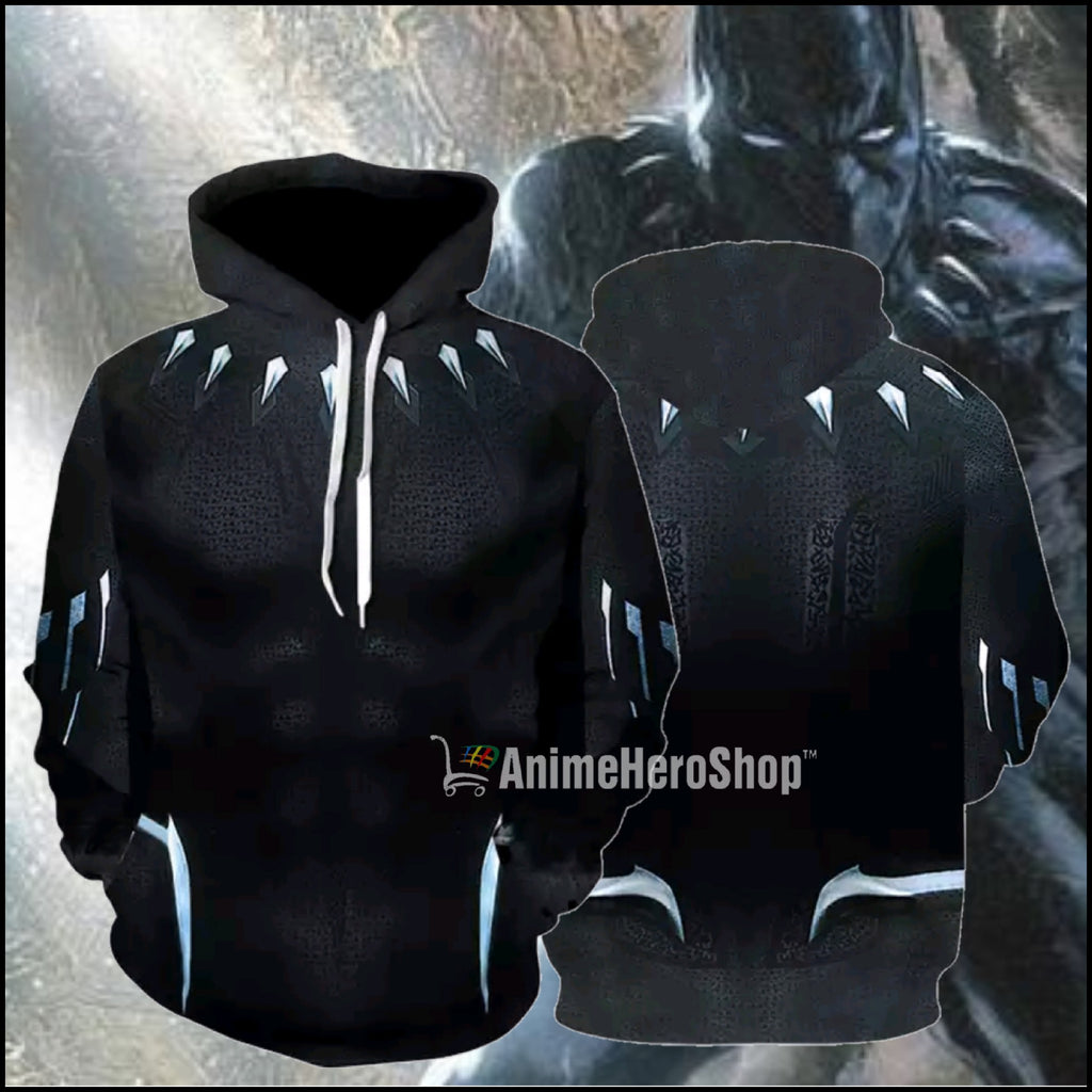 Black Panther Hoodie  ( Captain America Civil War )