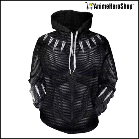 Image of Black Panther Hoodie  ( Avengers Infinity War ) - Anime Hero Shop