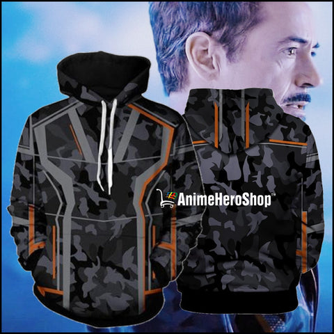 Image of Infinity War Iron Man Tony Stark men 3d print Hoodies - Anime Hero Shop