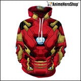 New Avengers Infinity War Iron Man Hoodie - Anime Hero Shop