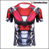 Ironman Short Sleeve T-Shirt ( 2 Styles ) - Anime Hero Shop