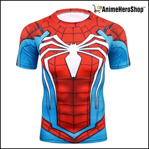 Image of Spiderman Short Sleeve T-Shirt ( 3 Styles )