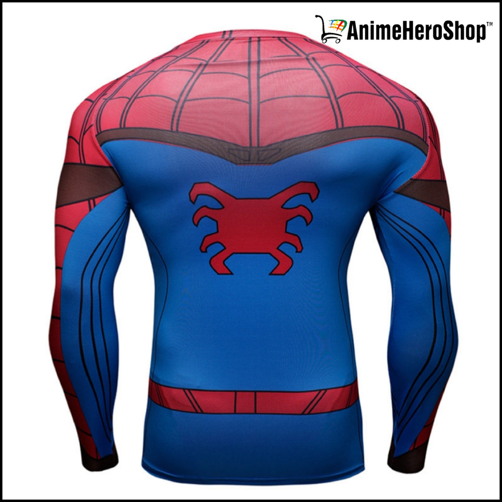 Spiderman T-Shirt Long Sleeve 3D Print (2 Styles ) - Anime Hero Shop