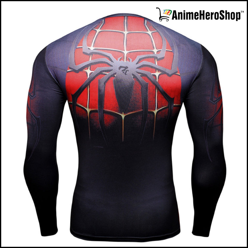 Spiderman T-Shirt Long Sleeve 3D Print (2 Styles )