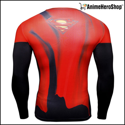 Image of Superman T-Shirt Long Sleeve 3D Print ( 3 Styles ) - Anime Hero Shop