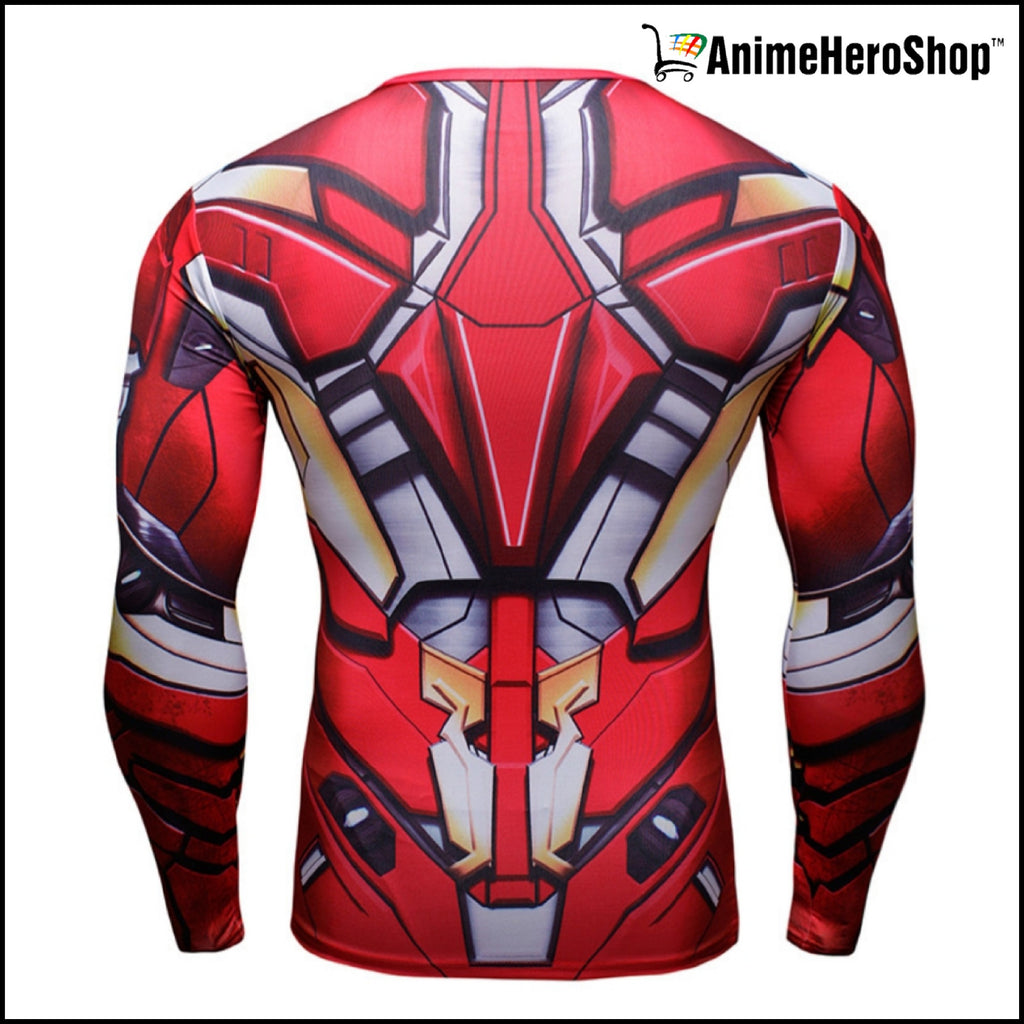 Ironman T-Shirt Long Sleeve 3D Print (2 Styles )