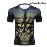 Wolverine Logan Short Sleeve T-Shirt