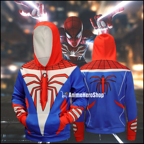 Image of Awesome Spiderman 3D Print Hoodie - Anime Hero Shop
