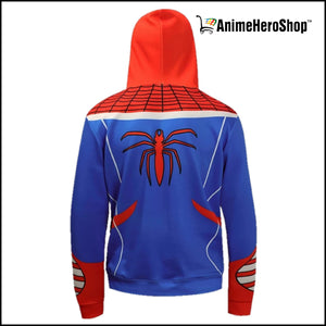 Awesome Spiderman 3D Print Hoodie - Anime Hero Shop