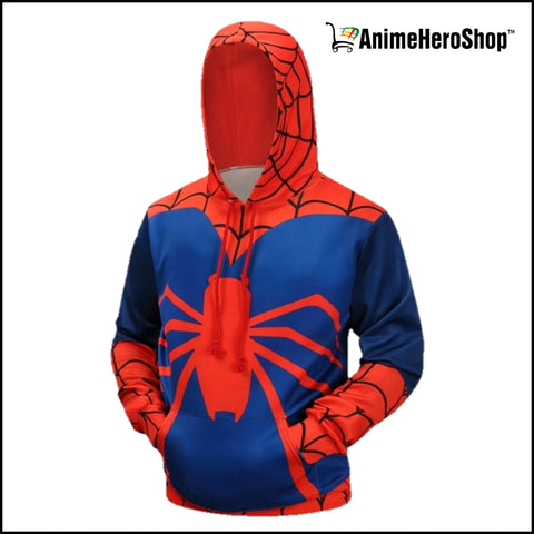 Image of Spiderman Hoodie - Spider man 3D Print Hoodie - Anime Hero Shop