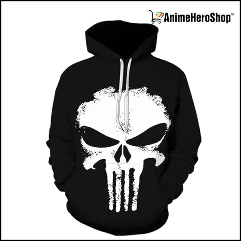 Image of The Punisher 3D print Hoodie - Anime Hero Shop