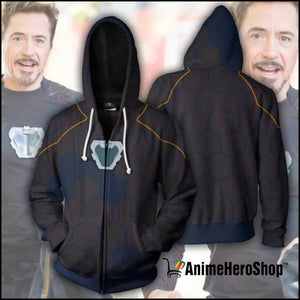 Infinity War Iron Man Tony Stark men 3d print Hoodies - Anime Hero Shop