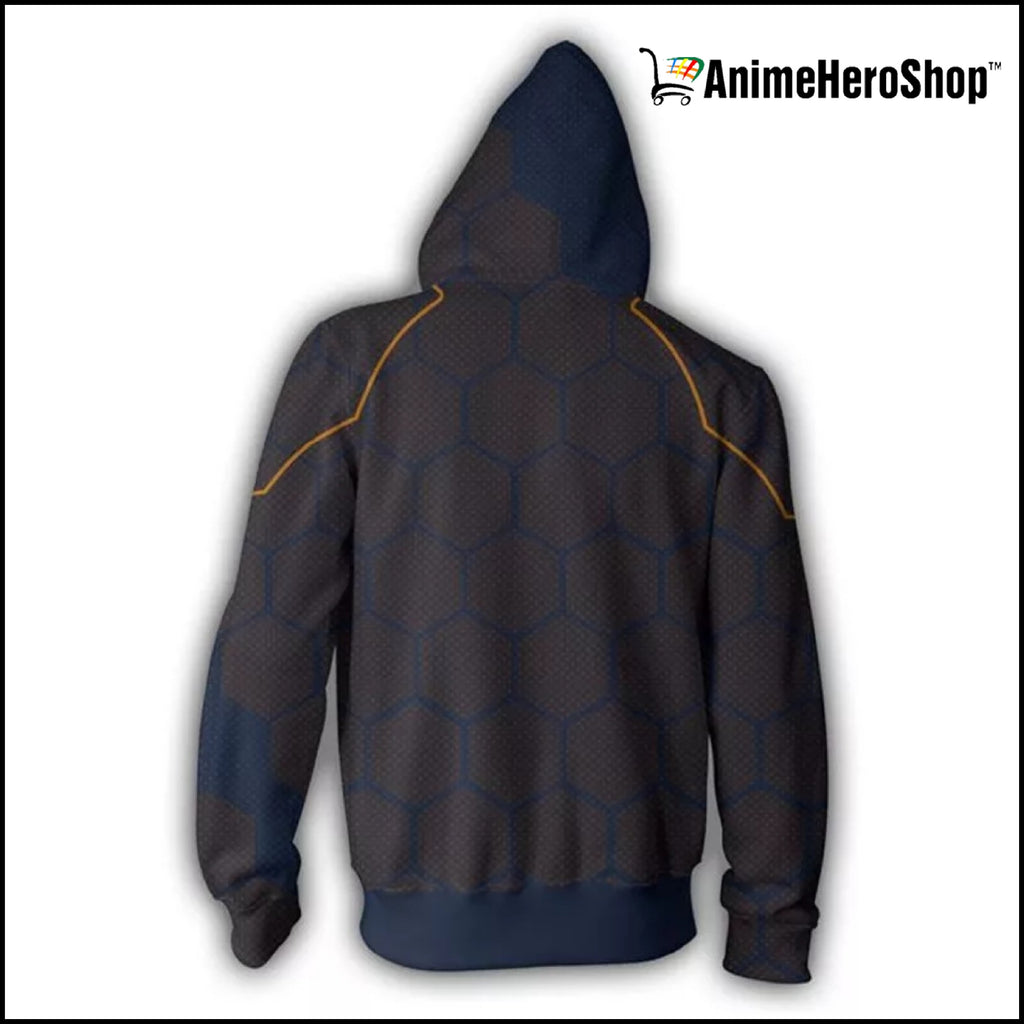 Tony Stark Zip Up Hoodie  ( Avengers Infinity War )