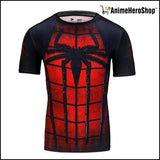 New Spiderman Fitness & Compression Shirt Tights - Anime Hero Shop