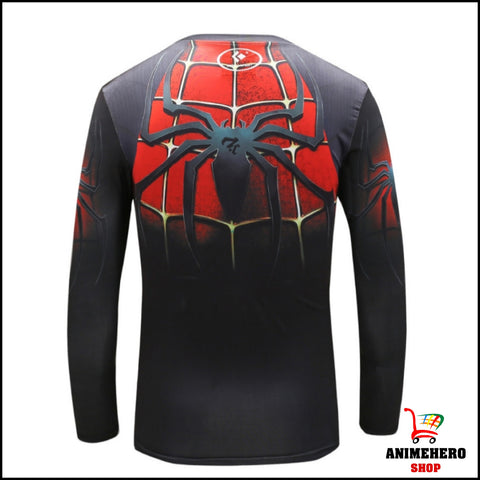 Image of New Spiderman Fitness & Compression Shirt Tights - Anime Hero Shop
