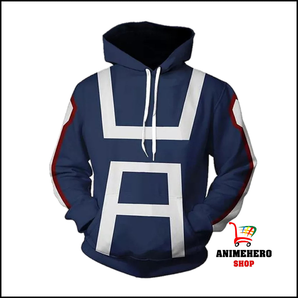My Hero Academia College Hoodie cosplay Props