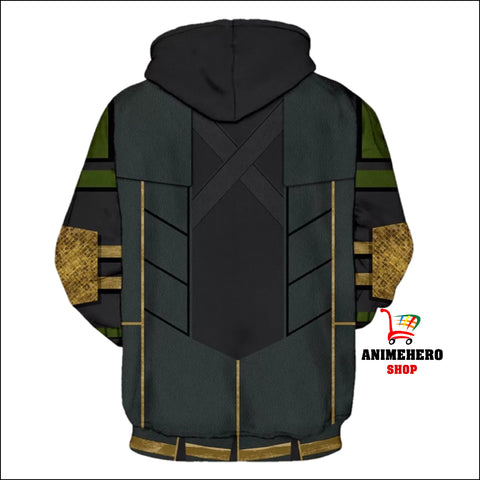 Image of Thor: The Dark World Avengers LOKI Cosplay Hoodie - Anime Hero Shop