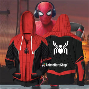 2019 Spider-Man Far From Home Unisex Hoodie - Anime Hero Shop
