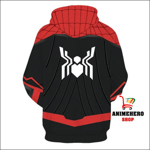 2019 Spider-Man Far From Home Unisex Zip Up Hoodie - Anime Hero Shop