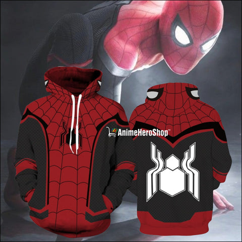 Image of 2019 SpiderMan Far From Home Unisex Hoodie