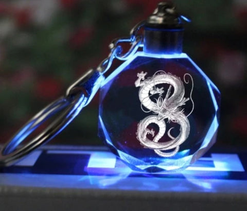 Image of Dragon Ball Z Light Up Keychains LED Pendant - Anime Hero Shop