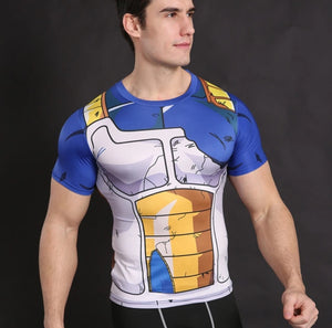 DBZ shirt Tops Fitness Goku and Others