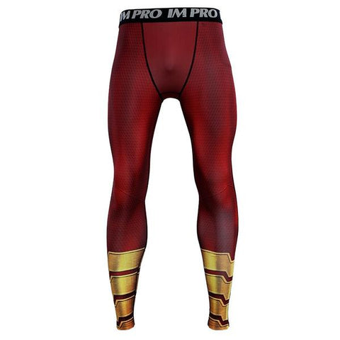 Image of Magician Shazam New 2019 DC Movie Compression T-Shirts & Pants - Anime Hero Shop