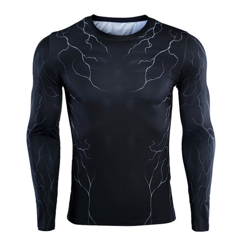Image of Venom Compression Long Sleeve Shirt - Anime Hero Shop