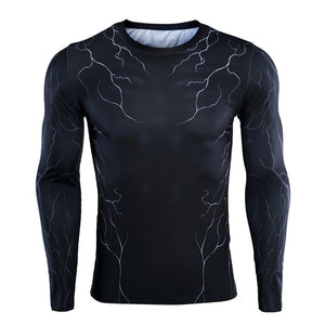 Venom Compression Long Sleeve Shirt - Anime Hero Shop