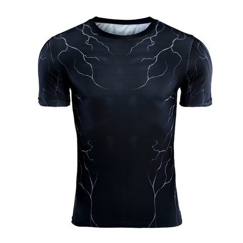 Image of Venom Compression Short Sleeve Shirt - Anime Hero Shop