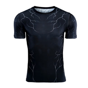 Venom Compression Short Sleeve Shirt - Anime Hero Shop