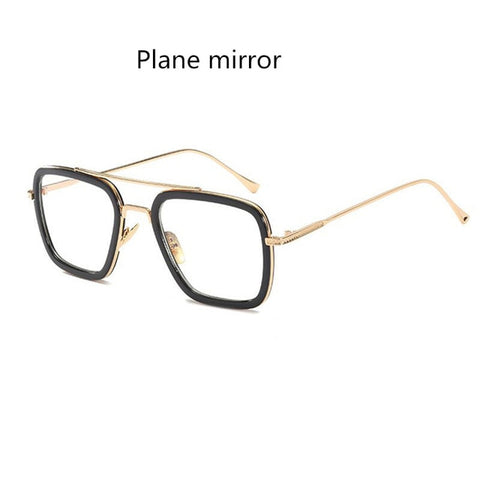 2019 Spider-Man: Far From Home Glasses Edith Cosplay Accessories Prop Iron Man Eyewear Edith Fashion Sunglasses Plane Mirror - Anime Hero Shop
