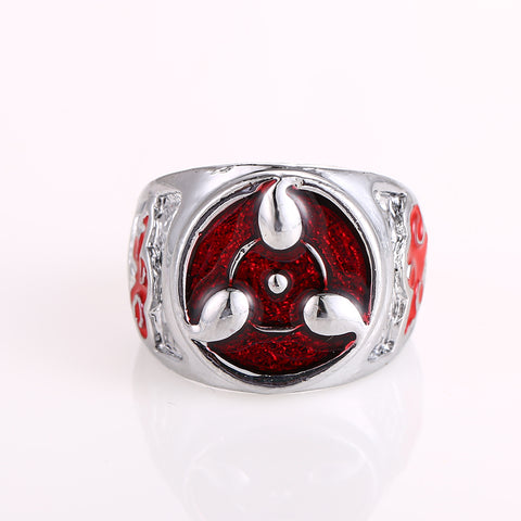Image of 2018 Naruto Sharingan Rings Metal Quality Gifts Jewelry