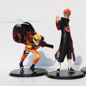 2Pcs/Set Naruto Uzumaki Naruto VS Pain PVC Action Figure - Anime Hero Shop