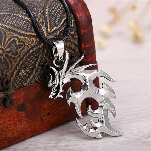 2018 Dragon Ball Dragon Logo Pendant Necklace