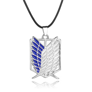 Attack on Titan Scout Regiment Logo Necklace Survey Corps - Anime Hero Shop