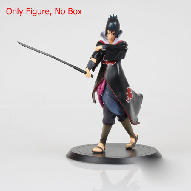 1Pcs Uchiha Sasuke Figures Sasuke PVC Action Figure 17cm - Anime Hero Shop
