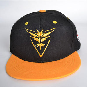 Pokemon Go Team Valor - Mystic - Instinct Snapback Baseball Cap hat - Anime Hero Shop