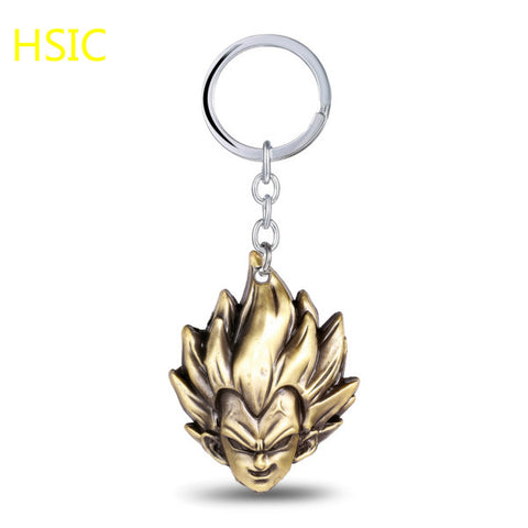 Image of Vegeta Keychain Ring Birthday Surprise Gifts for Men - Anime Hero Shop