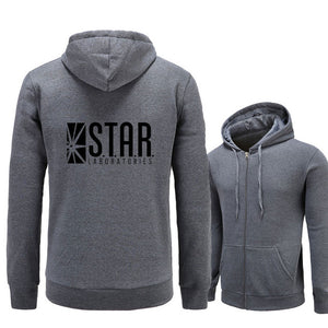 The Flash Star Labs Sweatshirt Hoodies Male Clothes - Anime Hero Shop