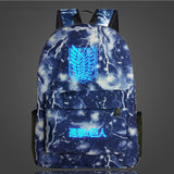 Attack on Titan Backpack Printing School Bag for Teenagers Cartoon Travel Bag Nylon