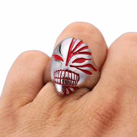 Image of Bleach Metal Alloy Ring For Men Women Rings & Accessories - Anime Hero Shop