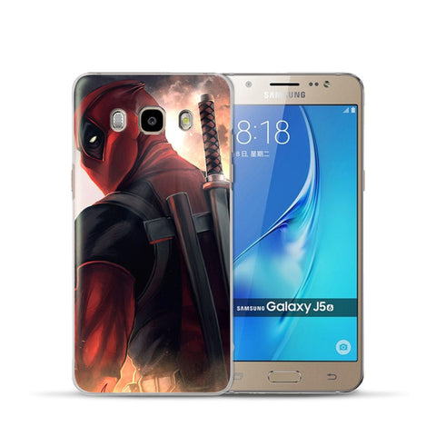 Image of Marvel&DC Phone Back Case Cover For Samsung Galaxy J3 J5 J7 2016 2015 - Anime Hero Shop