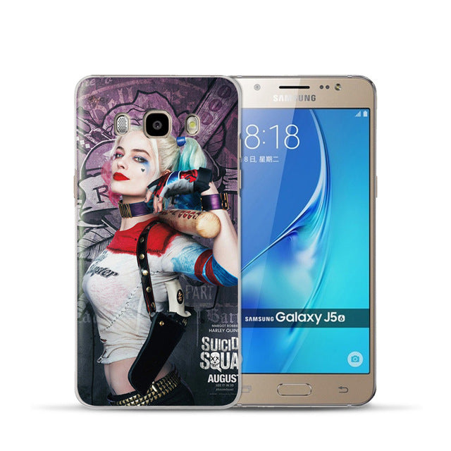 Marvel&DC Phone Back Case Cover For Samsung Galaxy J3 J5 J7 2016 2015 - Anime Hero Shop