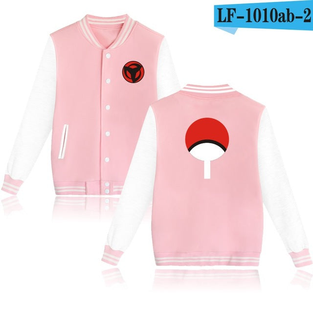 NARUTO Baseball Capless Sweatshirt 4 Colors